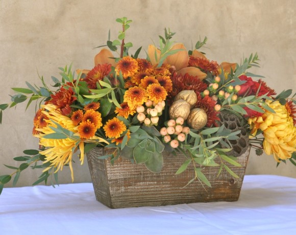 Create your own thanksgiving floral centerpiece south