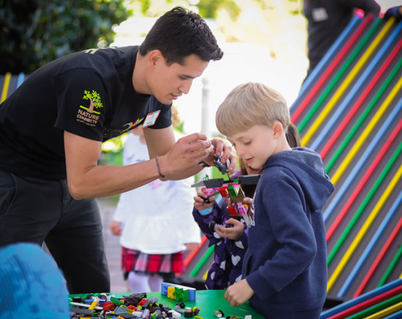 Event Photos – Nature Connects® – Art with LEGO® Bricks