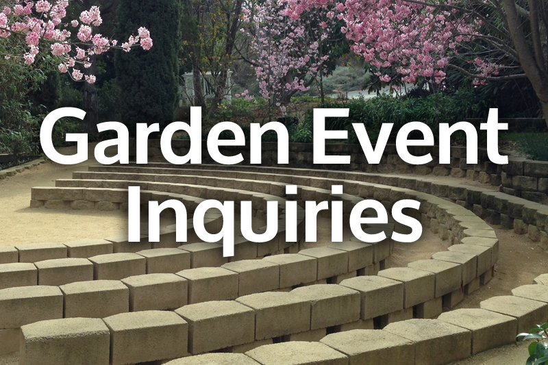 Garden Event Inquiries