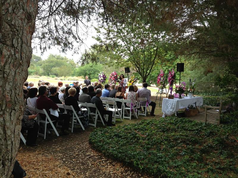 Event Venue Amphitheater Lawn South Coast Botanic Garden Foundation