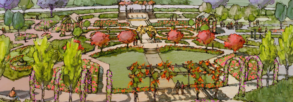 Newly Re Imagined Rose Garden Coming Soon!