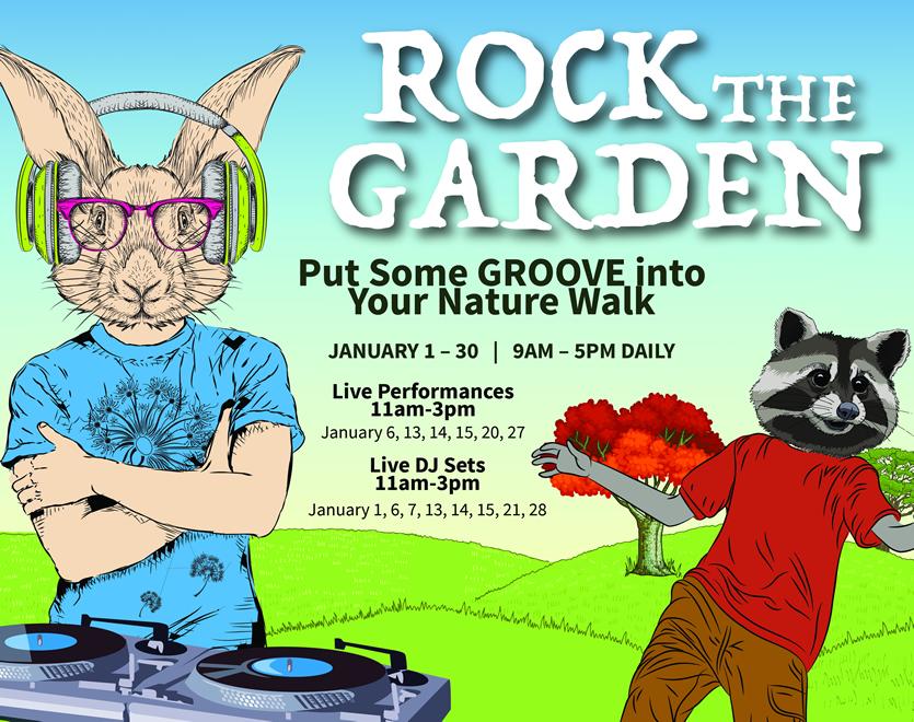 Rock The Garden South Coast Botanic Garden Foundation