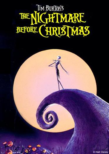 Nightmare Before Christmas Jack in Moon Image