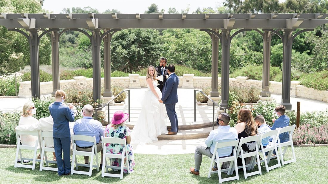 South Coast Botanic Garden's All-Inclusive 'Micro-Wedding' is a Beautiful, Safe Solution for Couples Looking to Wed Amid COVID-19 Pandemic - South Coast Botanic Garden Foundation